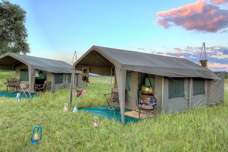Botswana under Canvas (Mobile Tented Safari)